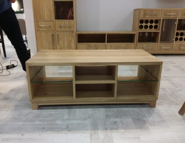 Coffee table large six drawers