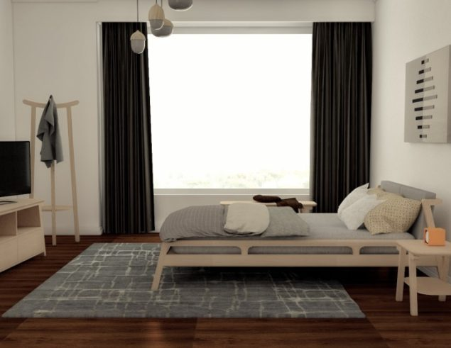 Bedroom Soligna East collection