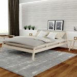 Bedroom beech white colored East collection Soligna