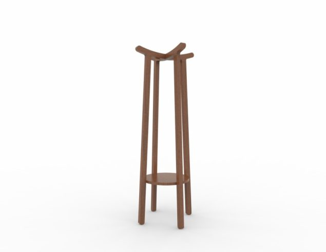 Coat hanger solid beech East collection Soligna